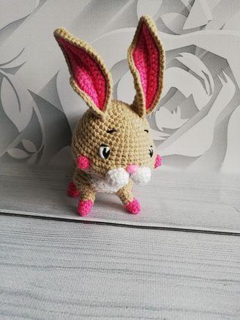 Zajączek maskotka homedecor Wielkanoc ozdoba