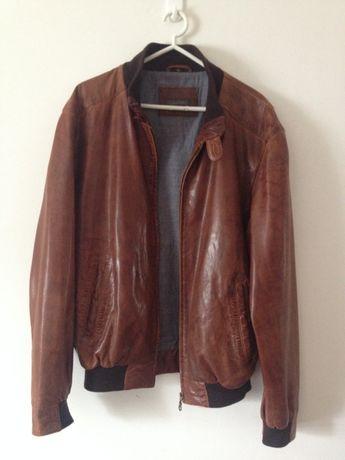 Blusão pele casaco couro casa das peles