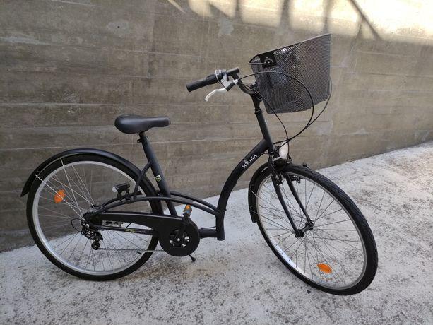 Bicicleta pasteleira Decathlon Elops 3