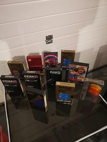 Kasety VHS cena za kmpl.