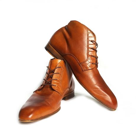 Кожаные ботинки чукка p.i.u.r.e. chukka leather boots