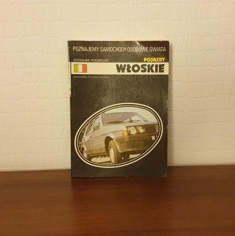 Pojazdy włoskie wydanie 1986r