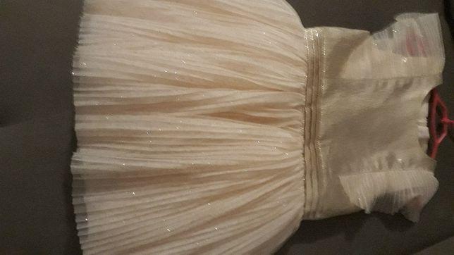 Sukieneczka dziewczęca złota 104