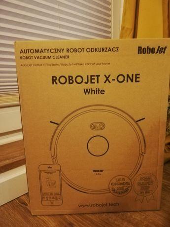 Robot sprzątający Robojet x-one w kolorze białym