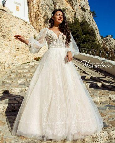Свадебное платье в стиле бохо НОВОЕ. ПРОДАЖА ТАК КАК НЕ ПОДОШЁЛ РАЗМЕР