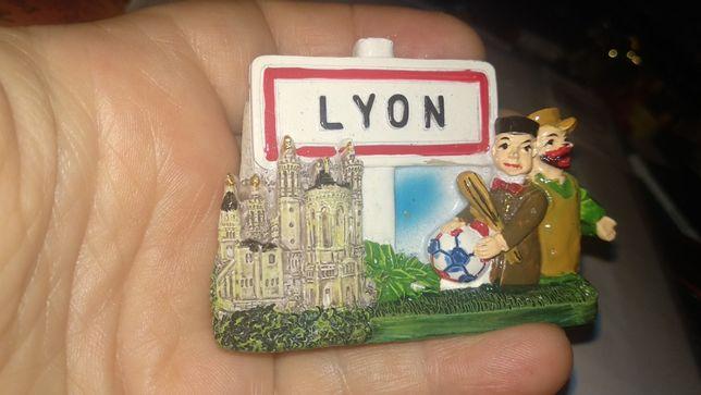 магнит на холодильник Лион Франция Lyon