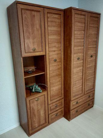 Zestaw mebli pokojowych szafa, biurko,meblościanka, krzesło