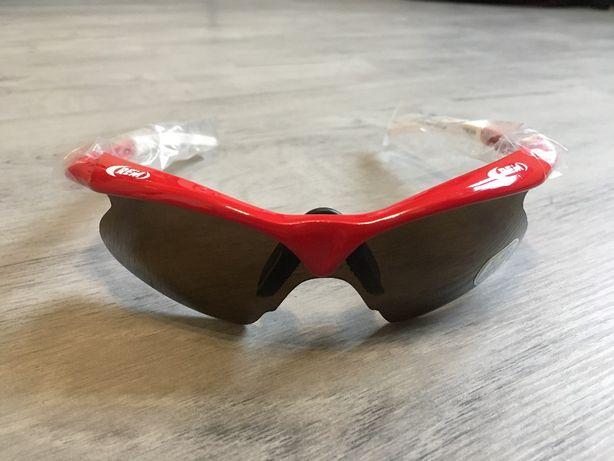*Okulary rowerowe REM BAT RED* Nowe Wyprzedaż!!!