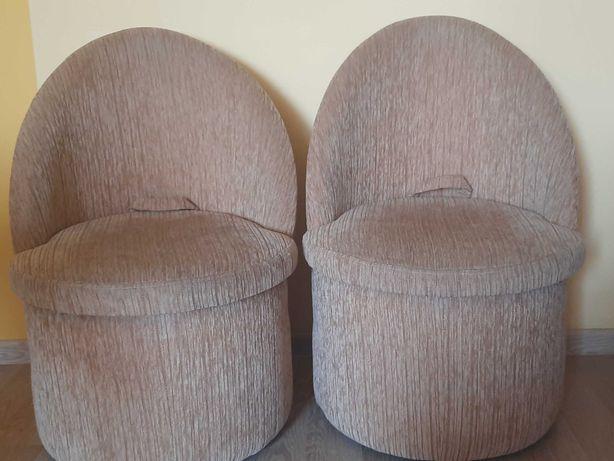 Fotele z pojemnikiem do przechowywania