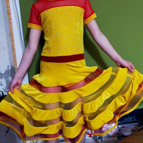 Плаття для бальних танців для дівчинки 115-130см зріст