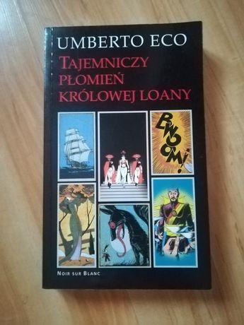 Książka Tajemniczy płomień królowej Loany