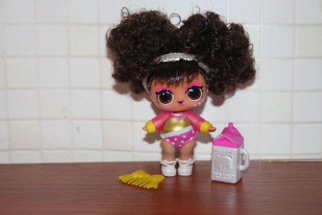 Кукла лол lol Hairgoals волосы редкая splits болельщица меняет цвет