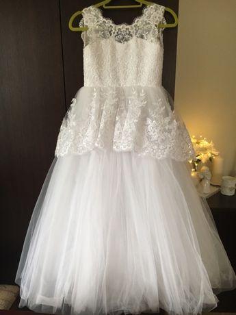 Sukienka dla dziewczynki na komunię/ druhna wesele