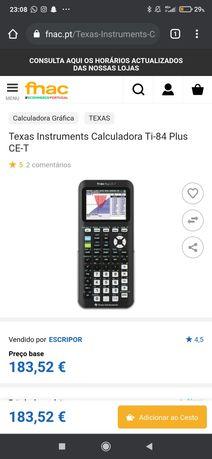 Calculadora gráfica Texas