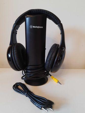 Słuchawki bezprzewodowe Radio FM Mikrofon
