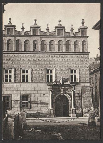 pocztówka - Kraków 1959 - Prałatówka - plac Mariacki