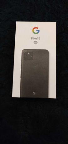 Google Pixel 5, Dual Sim, 128 GB, Just Black. Новый, в упаковке.