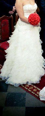 Suknia Ślubna Przepiękna...okazja!!!polecam!!!
