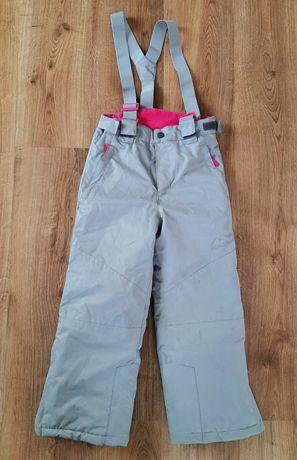 Spodnie narciarskie YFK roz.122-128 cm / 7-8 lat zimowe ocieplane