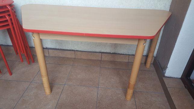 Biurko dla dziecka, stolik, ławka Moje Bambino, regulowana wysokość