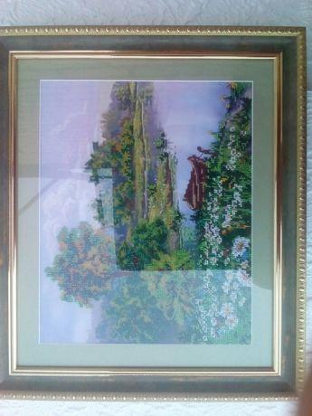 картина из чешского бисера