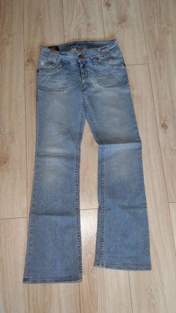 spodnie jeansy LEE W29 L 33 rozm S