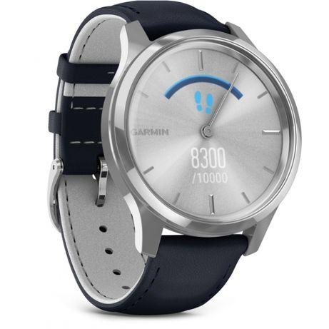 Смарт-часы Garmin vivomove Luxe Silver Navy (010-02241-00)