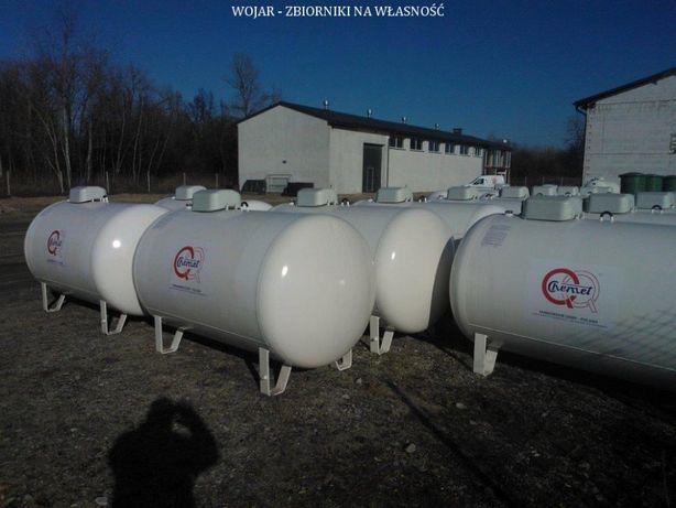 Zbiornik nowy na gaz propan lpg butla 2700L Najtańsze ogrzewanie domu