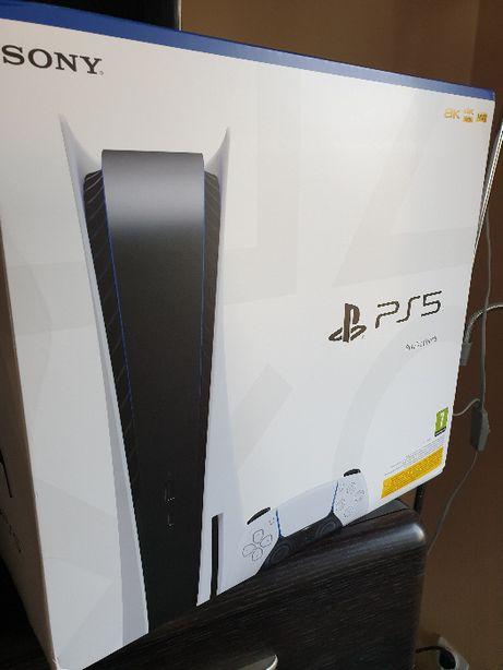 Playstation 5 z napedem zaplombowana