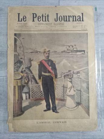 Le Petit Journal 4 egzemplarze ilustrowany dodatek. Super na prezent