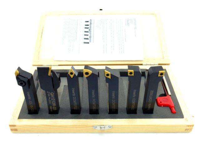 Noże tokarskie 12X12 7elm wymienne płytki do toczenia