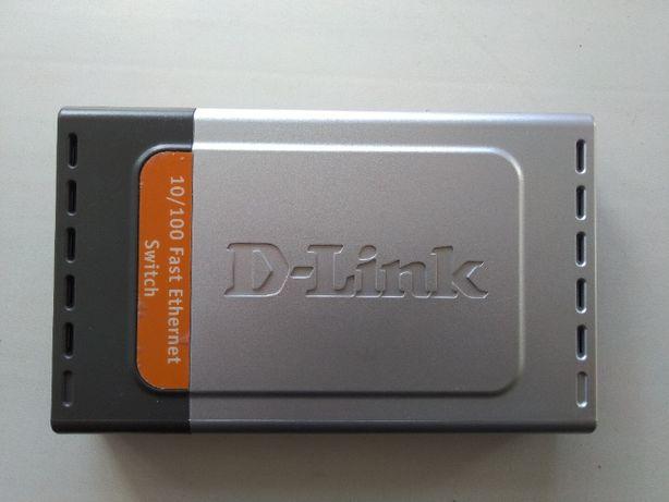 Свитч D-Link DES-1008D на запчасти