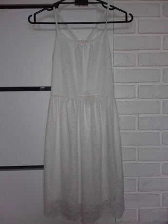 Biała sukienka H&M