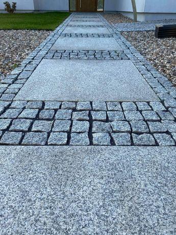 Płytki granitowe chodnik taras Strzegomski producent