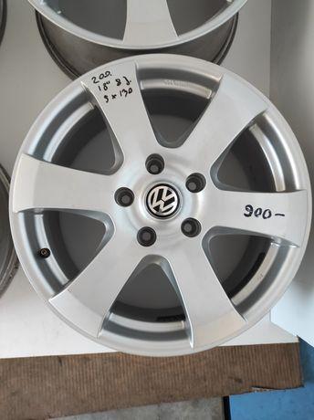 200 Felgi aluminiowe VOLKSWAGEN Touareg R 18 5x130  Bardzo Ładne