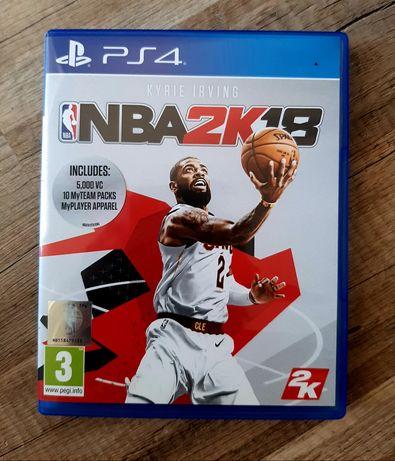 Gry na PlayStation 4 - NBA 2K18