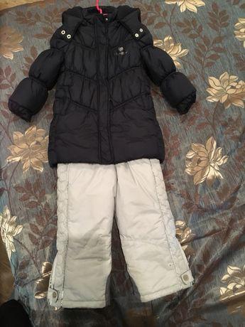Зимняя курточка Chicco. Зимние (лыжные) штаны Chicco.