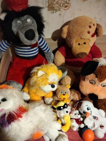 Мягкие игрушки цена за все