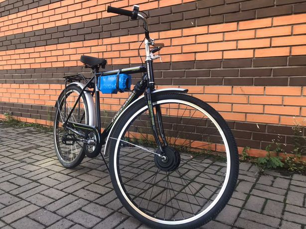 Акция! Новый Электровелосипед,батарея 18 Ач пробег 60-80км