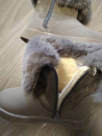 Зимние угги ботинки сапожки еврозима Шалунишка