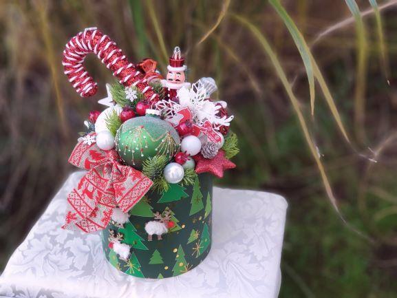 Flowerbox świąteczny