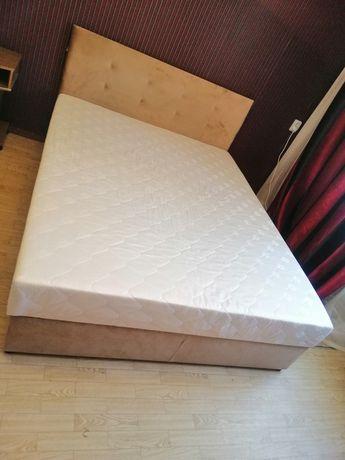 Продаётся новая кровать + наматрасник