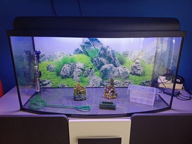 Sprzedam akwarium 102L panoramiczne