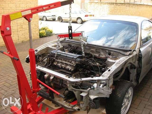 Grua de garagem para motores para 1 ou 2 Toneladas