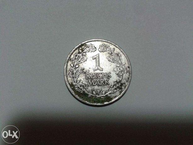 серебро 1марка 1925