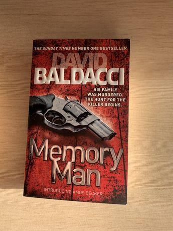 Memory man - Baldach - ksiażka anglojęzyczna