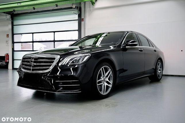 Mercedes-Benz Klasa S 4matic amg line exclusive pakiet burmester