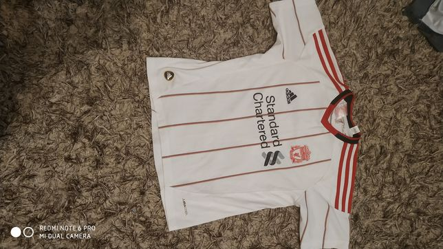 Koszulka adidas Liverpool Andy Carroll orginalna . Rozmiar 140