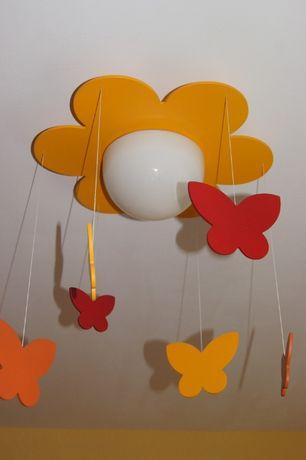Lampa sufitowa kwiatek