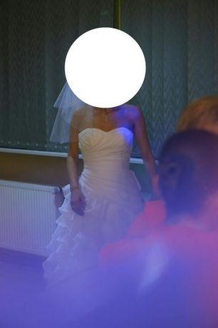 Piękna suknia ślubna hiszpanka